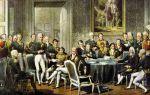 Венский конгресс 1814-1815 годов
