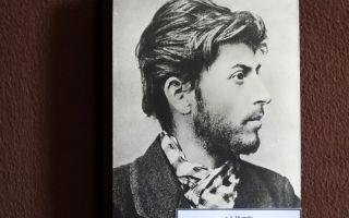 Псевдонимы и настоящая фамилия Сталина