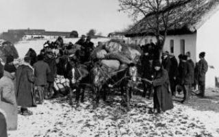 Раскулачивание крестьян в СССР в 30-е годы