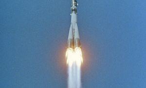 Первый полет человека (Юрия Гагарина) в космос