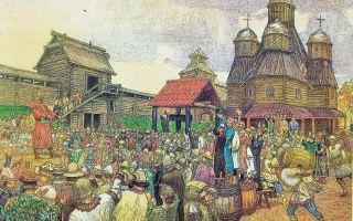 Новгородское вече (кратко)