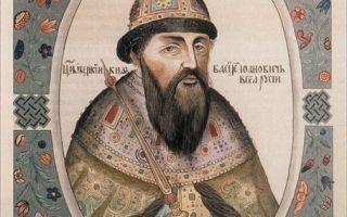 Правление царя Василия Шуйского (кратко)