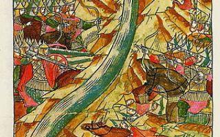 Стояние на реке Угре в 1480 году