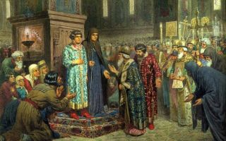 Избрание Михаила Романова на царство