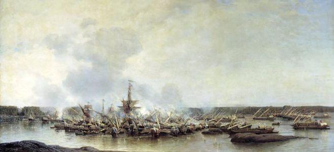 Гангутское сражение 1714 года