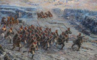 Крымская война 1853-1856 гг. (таблица)