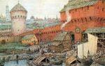 Образование Московского княжества